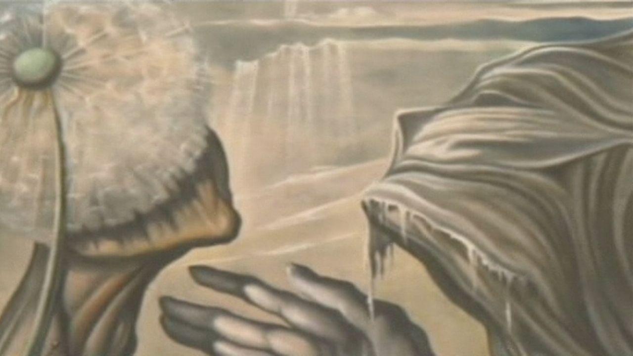 Séquences choisies - Une immense toile de Dali dévoilée