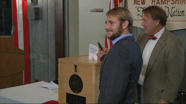 Séquences choisies - Premier vote dans le New Hampshire