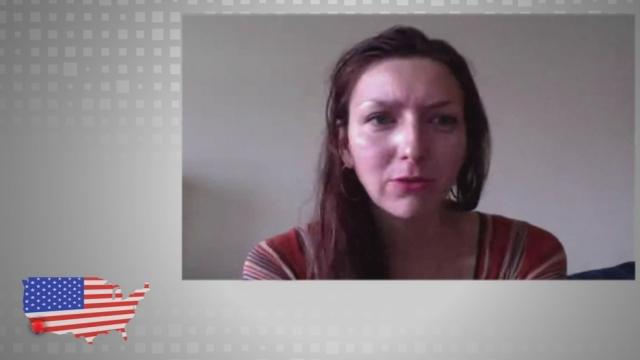 """Christiane Georgi, actrice: """"si Romney est élu j'ai un peu peur"""""""