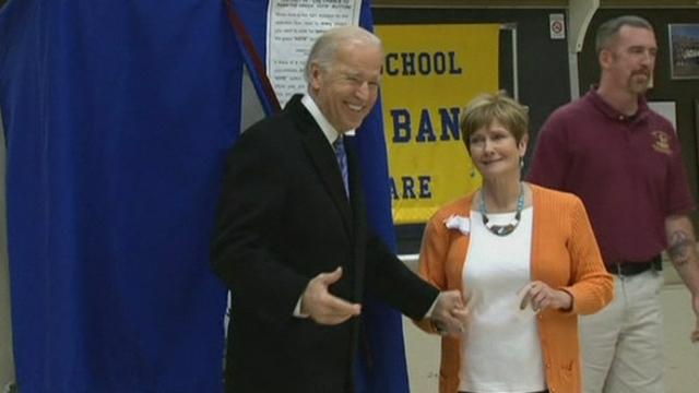 Séquences choisies - Joe Biden vote