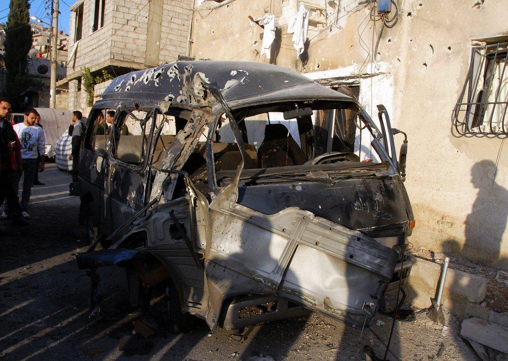 un haut responsable syrien a t tu par une bombe damas monde. Black Bedroom Furniture Sets. Home Design Ideas