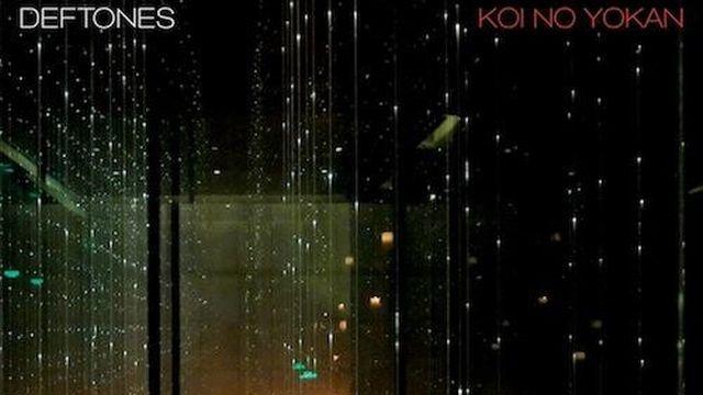 """La pochette de """"Koi No Yokan"""" de Deftones."""