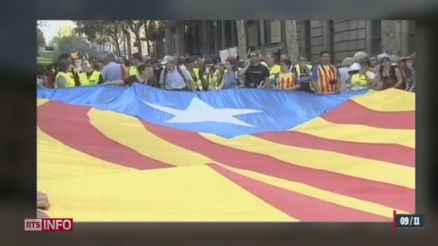 Des élections anticipées auront lieu dans deux semaines et l'indépendance de la Catalogne pourrait alors se concrétiser