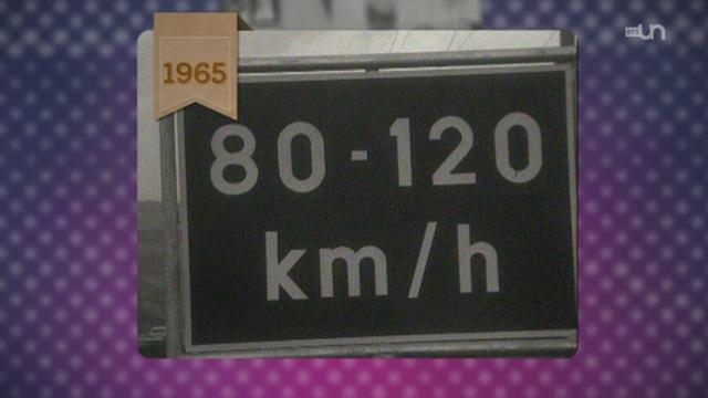 Passé présent: il y a cinquante ans, l'autoroute Genève-Lausanne était déserte.