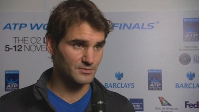 Interview de Federer