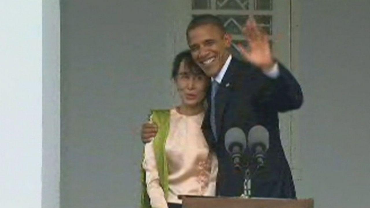 Séquences choisies - Barack Obama en visite en Birmanie