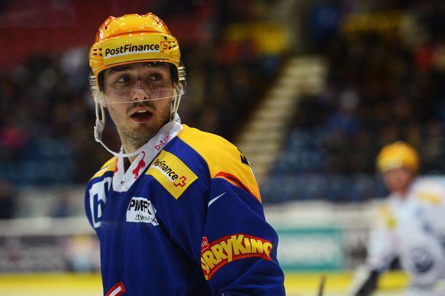 Denis Hollenstein est l'actuel top-scorer des Kloten Flyers. [Melanie Duchene/EQ Images - Keystone]