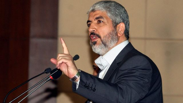 Khaled Meshaal (1956) est le chef du Hamas. [STR - Keystone]