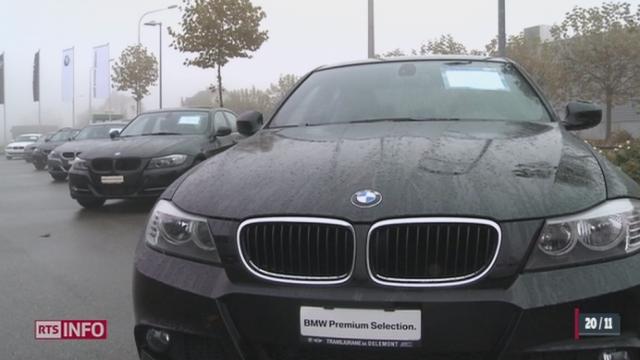 des voitures neuves proposées 5000 francs par un site de vente en