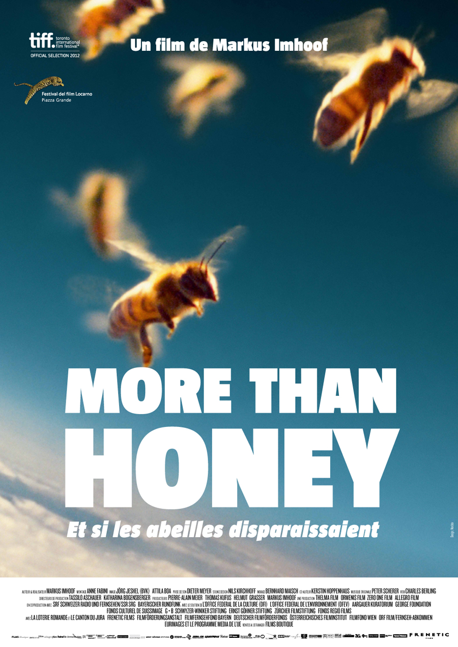 "L'affiche du film ""More Than Honey""."