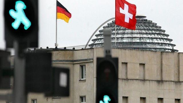 L'accord fiscal entre l'Allemagne et la Suisse n'a pas trouvé de majorité lors du vote au Bundesrat. [Wolfgang Kumm / Keystone]