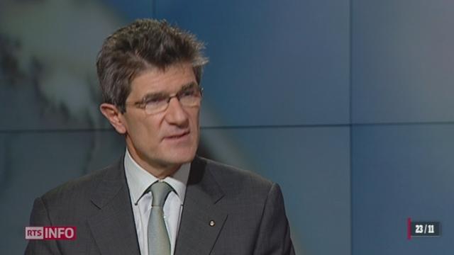 Accord Rubik: entretien avec Patrick Odier, président de l'Association suisse des banquiers