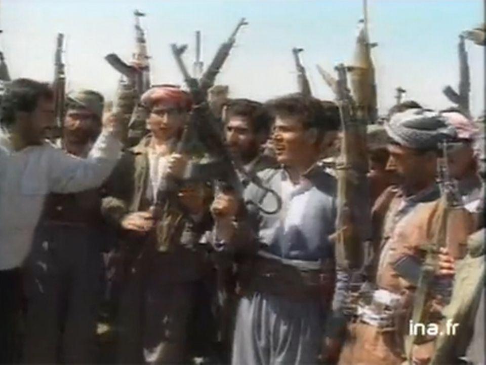 """""""Irak / la cible kurde"""". [INA]"""