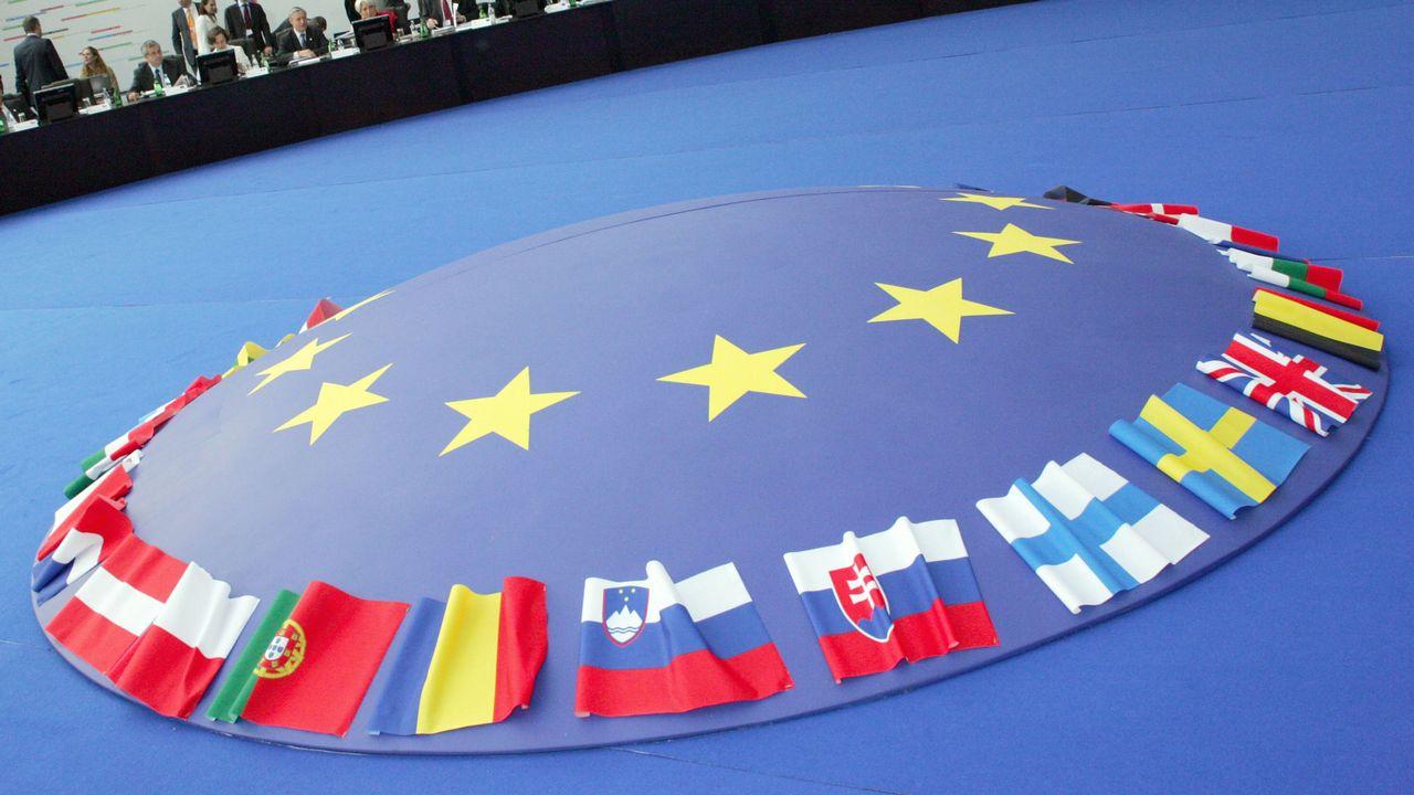 Le conseil ECOFIN se réunit mardi 04.12.2012 à Bruxelles. [Stéphane Danna - AFP]