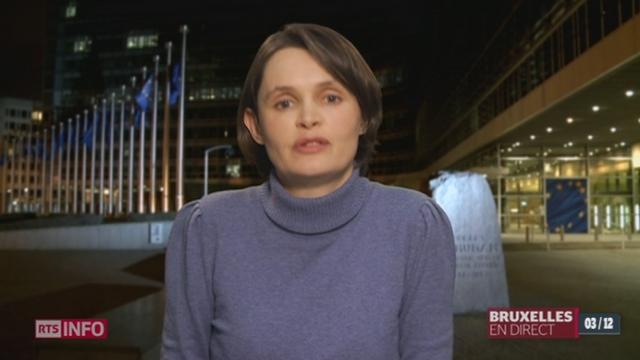 Pression de l'UE sur la fiscalité des entreprises en Suisse: le point avec Isabelle Ory, correspondante RTS à Bruxelles