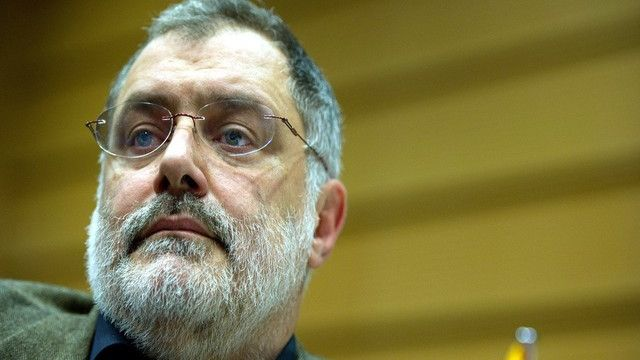 Carlo Sommaruga, secrétaire général de l'ASLOCA romande. [Jean-Christophe Bott / Keystone]