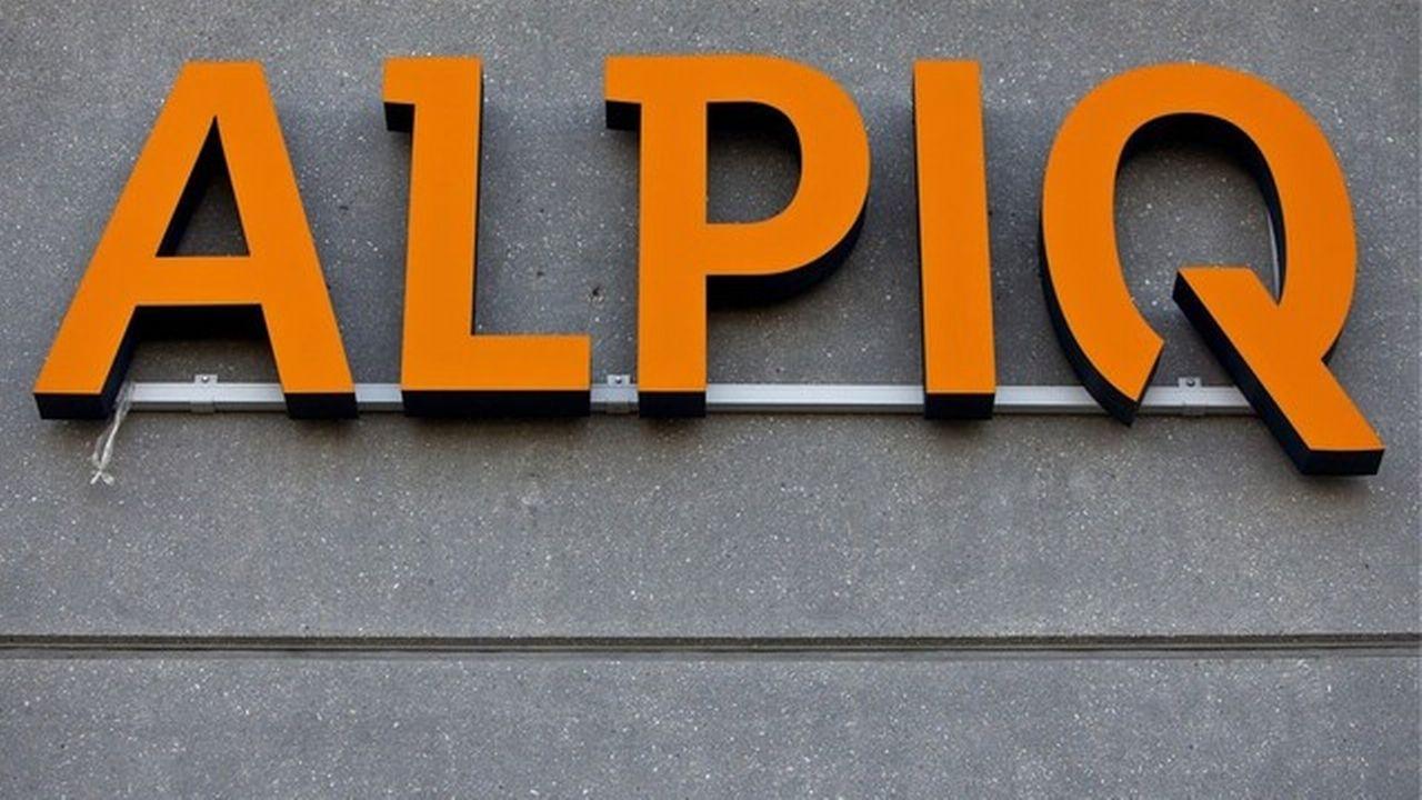 Alpiq s'enfonce encore dans les chiffres rouges. [Gaëtan Bally]
