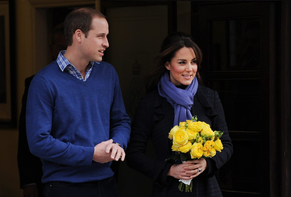 Kate out of spital