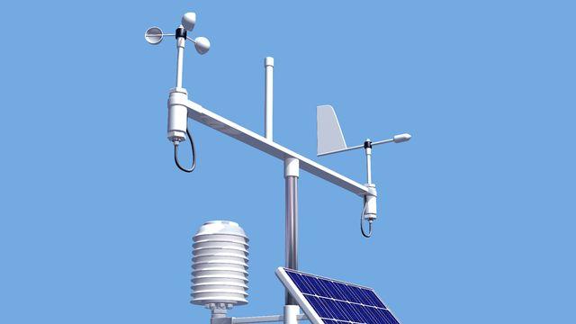 Station de mesure météorologique [© Paul Fleet - Fotolia]