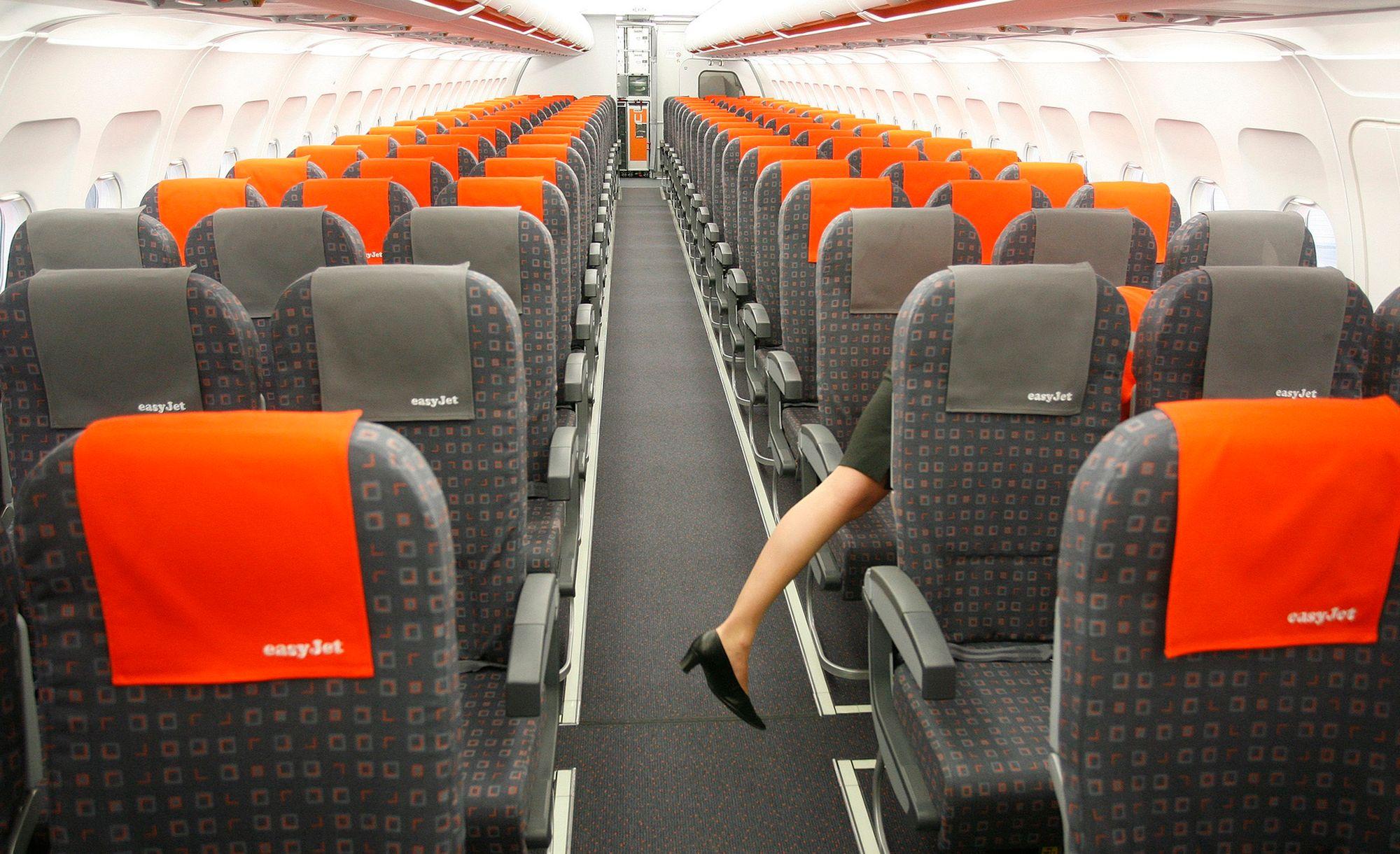 Les passagers d 39 easyjet auront d sormais des si ges for Interieur avion easyjet