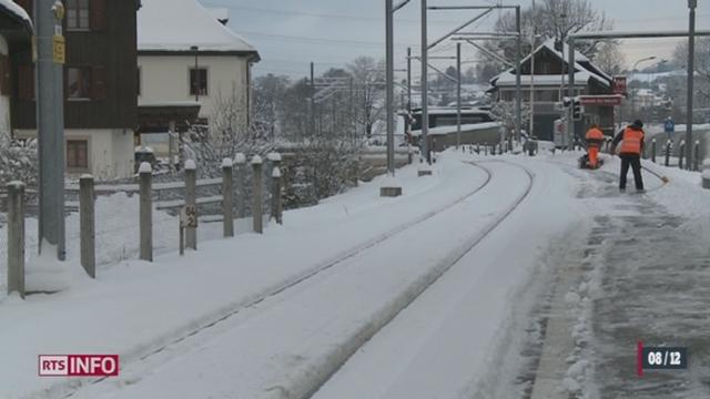 Dans la nuit de vendredi à samedi en Suisse, il est encore tombé jusqu'à 10 centimètres de neige en plaine