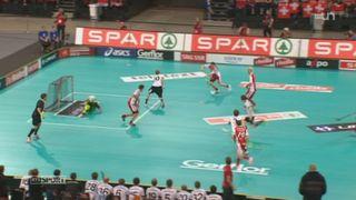 Unihockey / Championnat du monde: la Suisse se pare de bronze en battant l'Allemagne