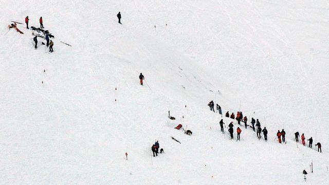 Le 17 janvier 2004, une avalanche avait déjà enseveli quatre skieurs hors pistes. [Olivier Maire - Keystone]