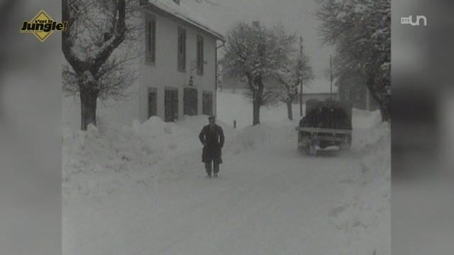 L'historique décalé et neigeux