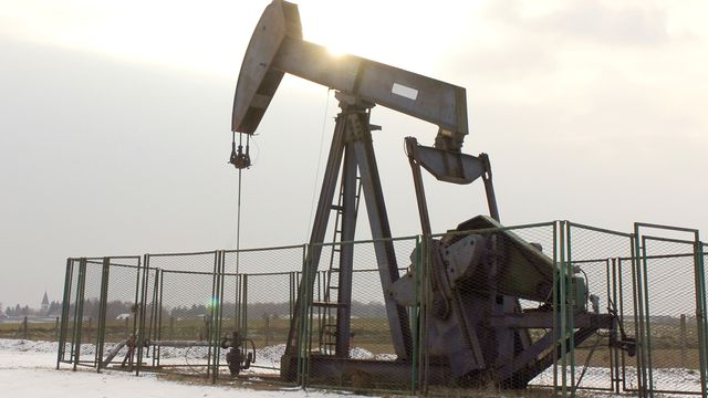 Un puits de pétrole à Chuelles en France. [Alain Jocard - AFP]
