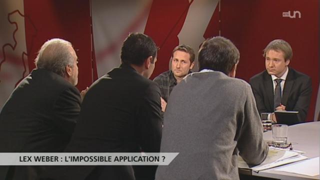 Lex Weber : l'impossible application ?