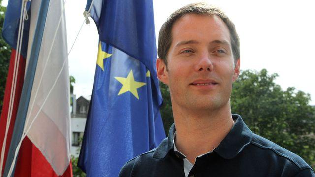 Thomas Pesquet, un nouvel astronaute de l'Agence Spatiale Européenne.  Pierre Verdy AFP [Pierre Verdy - AFP]