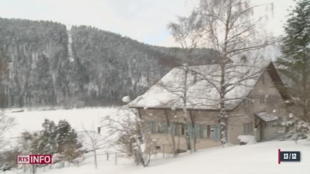 """La compagnie minière """"Celtique Energie"""" estime à 50% ses chances de trouver du gaz sous le village de Noiraigue (NE)"""