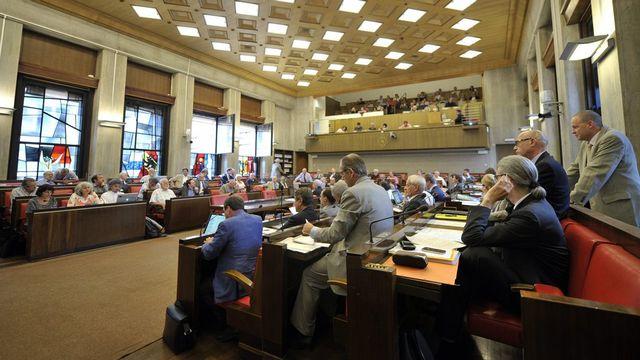 Le Grand Conseil genevois n'a pas encore réussi à trouver un accord sur le budget 2013. [Martial Trezzini - Keystone]
