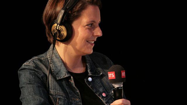 """Ada Marra à """"L'Agence"""" le dimanche 16 décembre 2012. [Jean-Marc Nyffeler  - RTS]"""