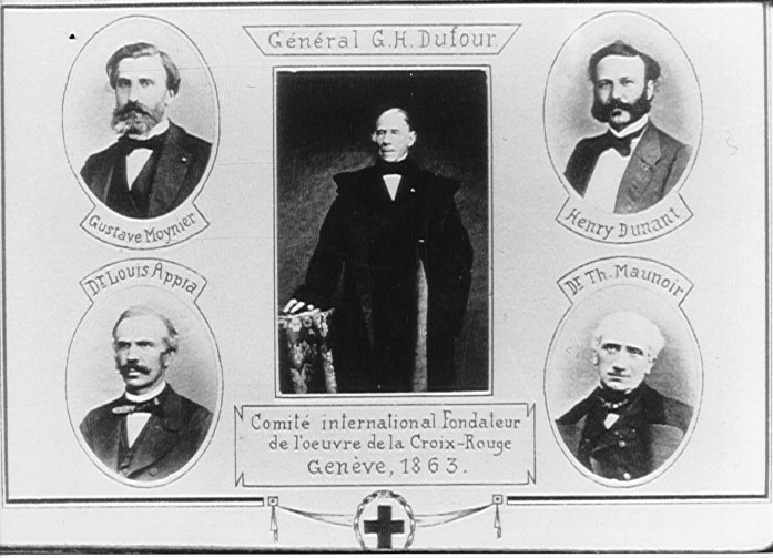 Committee of Five Geneva 1863