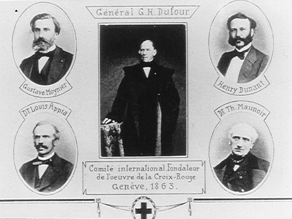 Committee of Five Geneva 1863 [Wikimedia]