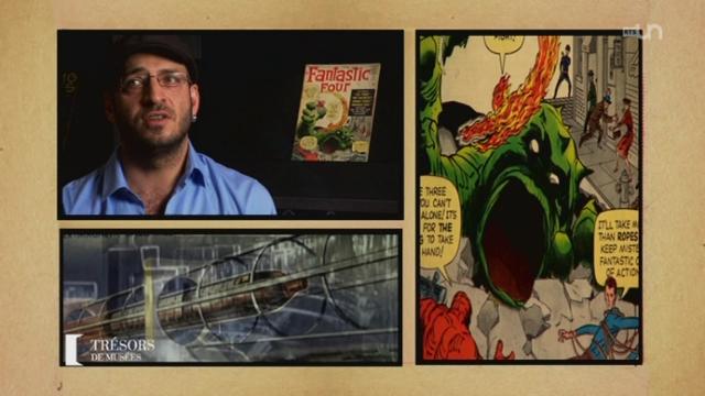"""BD """"Fantastic Four / comics américain"""" (1er numéro)"""