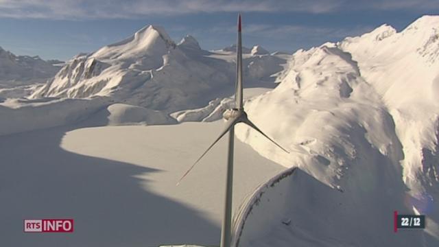 Un an après la mise en service du mat éolien du col du Nufenen, l'heure est au premier bilan énergétique