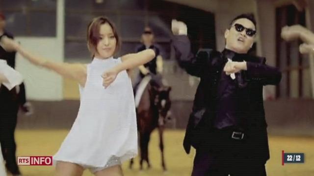 """Le clip """"Gangnam Style"""" du chanteur sud-coréen PSY atteint le milliard de vues sur le net"""