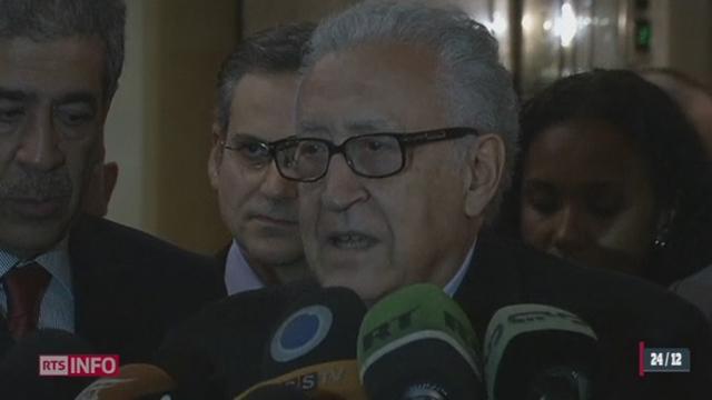Syrie: l'émissaire international Lakhdar Brahimi a rencontré le président Assad pour la 3ème fois