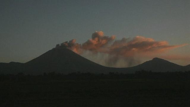 Le volcan San Cristobal se réveille