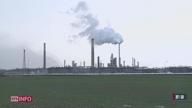 La raffinerie Tamoil de Collombey-Muraz (VS) refuse de mettre aux normes ses équipements en 2013