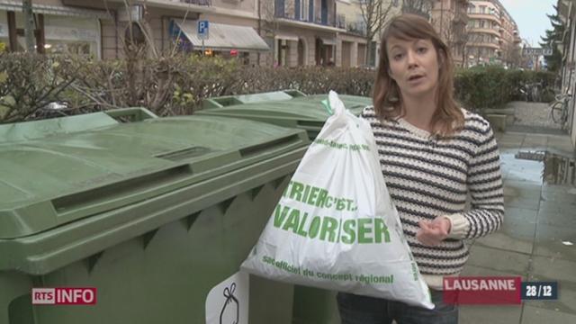 Taxe poubelle: finis les sacs noirs, ils seront remplacés par des sacs blancs dans la majorité des communes du canton de Vaud