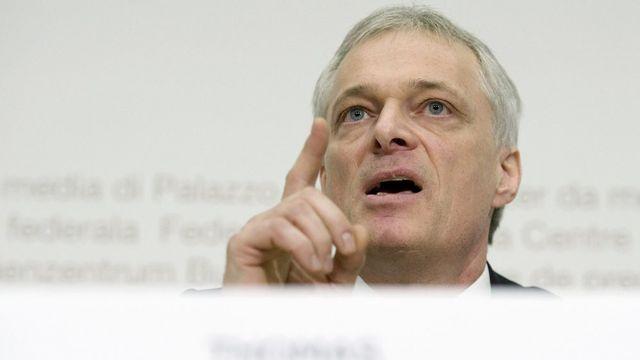 Thomas Minder avait déposé son initiative au début 2008. [Peter Schneider - Keystone]