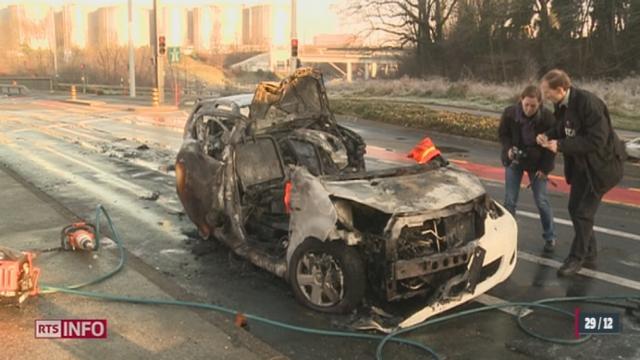 Un violent accident de la route fait un mort à Genève