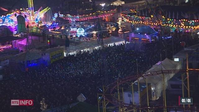 GE: ils étaient plus de 20'000 à passer le Nouvel An sur la plaine de Plainpalais