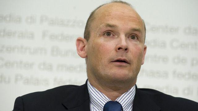 Yvan Perrin, conseiller national (UDC/NE). [Marcel Bieri - Keystone]