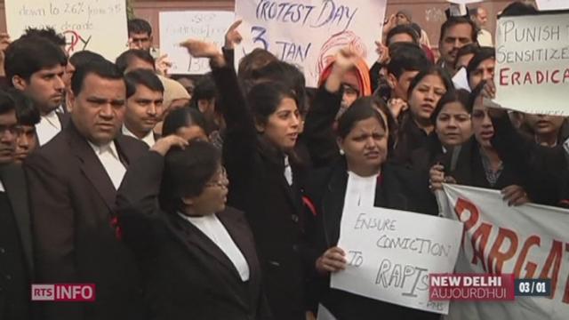 Inde: cinq des six auteurs présumés du viol collectif d'une étudiante décédée samedi des suites de cette agression ont été formellement inculpés