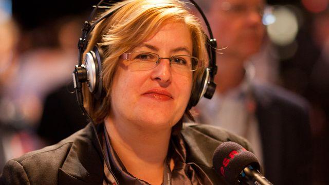 Chrystel Domenjoz (journaliste RSR). [Anne Bichsel - RTS]