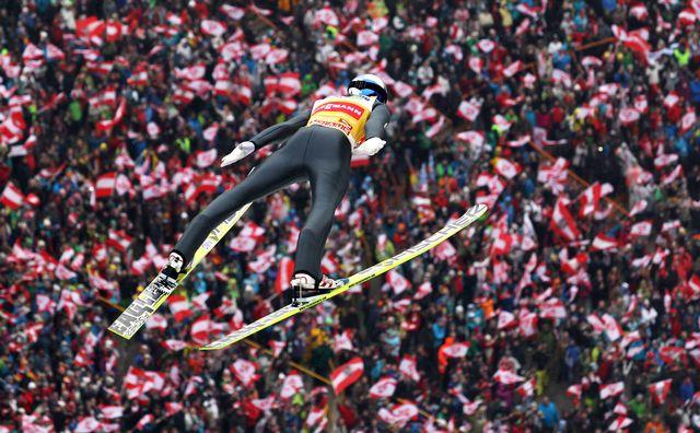 Schlierenzauer a survolé cette troisième étape pour le plus grand plaisir du public d'Innsbruck. [Philipp Bremm - EQ]